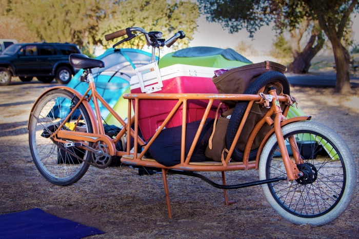 Cycle Truck in Camp