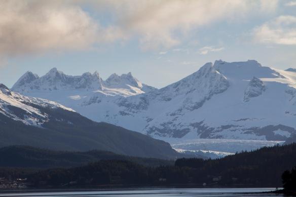 Mendenhall Glacier and Juneua