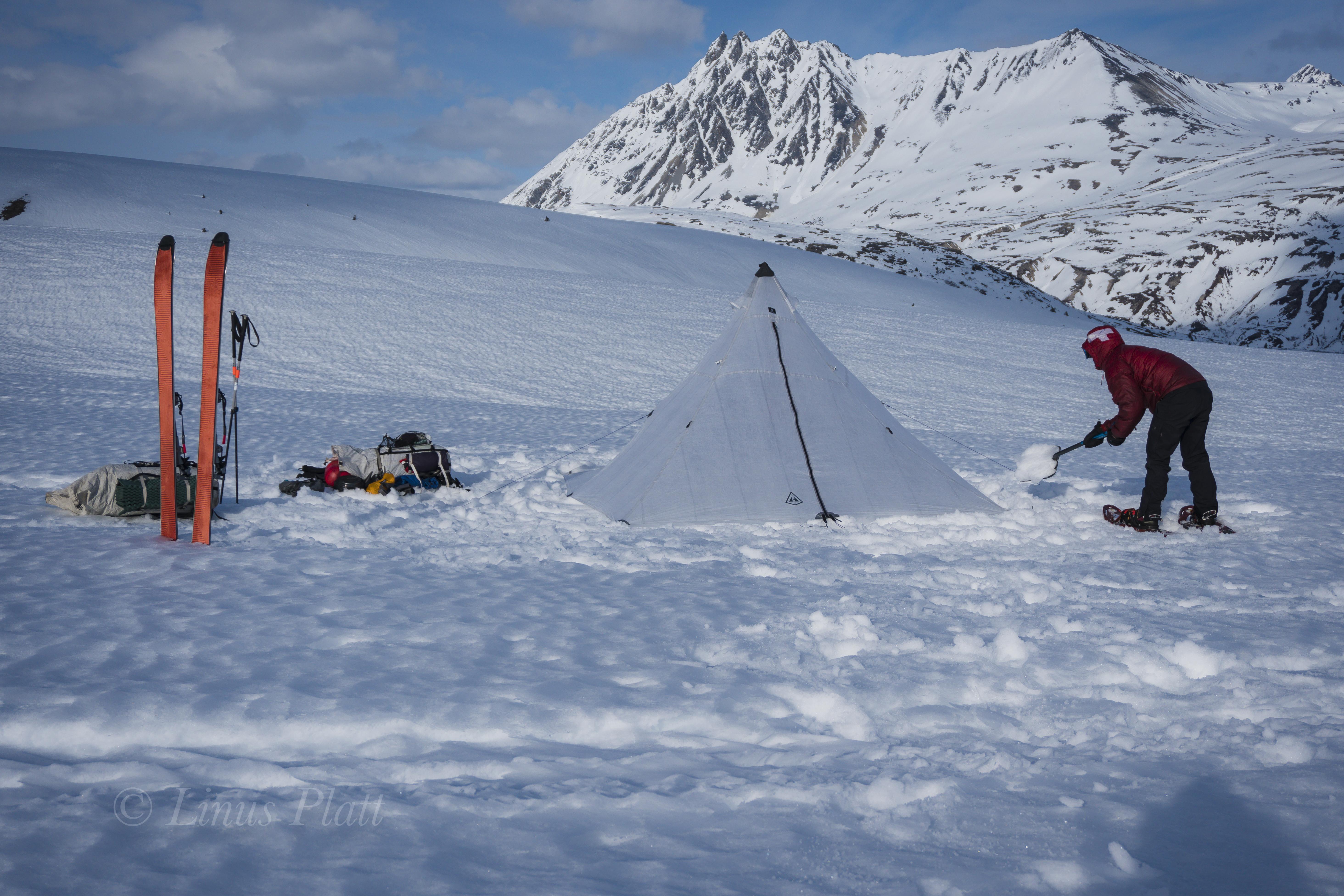 March Overnight Ski Tour-5
